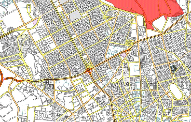 1Spatial - OSM Data Styled for 1:50 Display