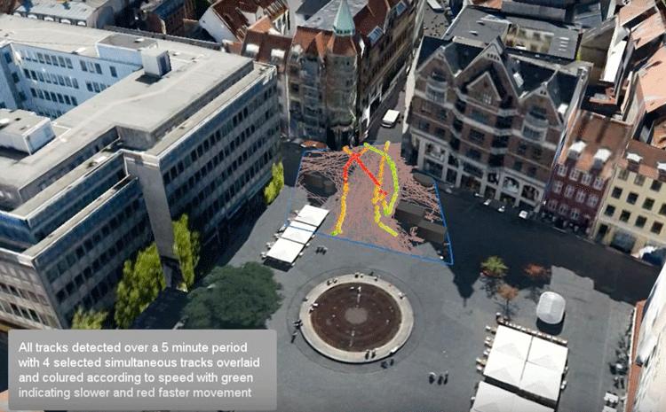 GIS-pedestrian-movements