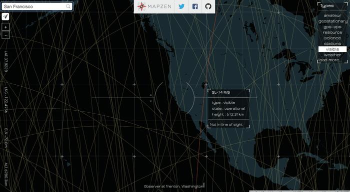track-satellites