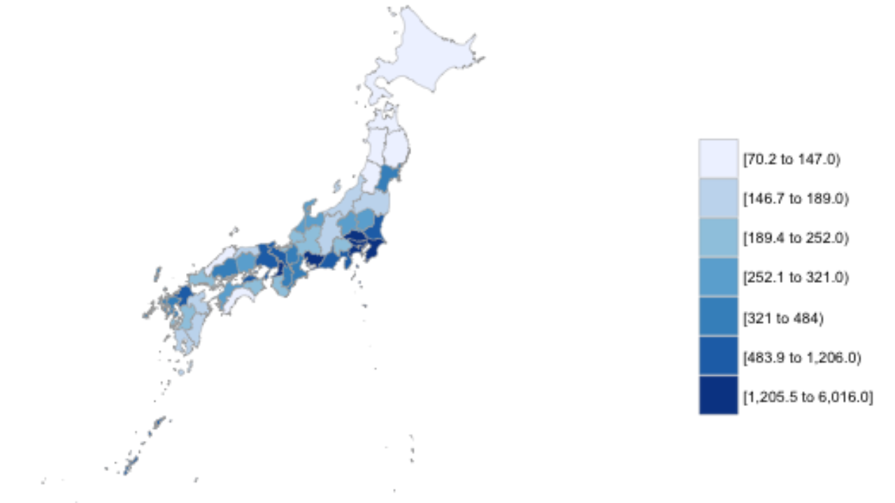 Creating Administrative Choropleth Maps Using R ~ GIS Lounge