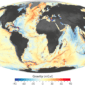 NASA Earth Observatory maps by Joshua Stevens, using data from Sandwell, D. et al. (2014).