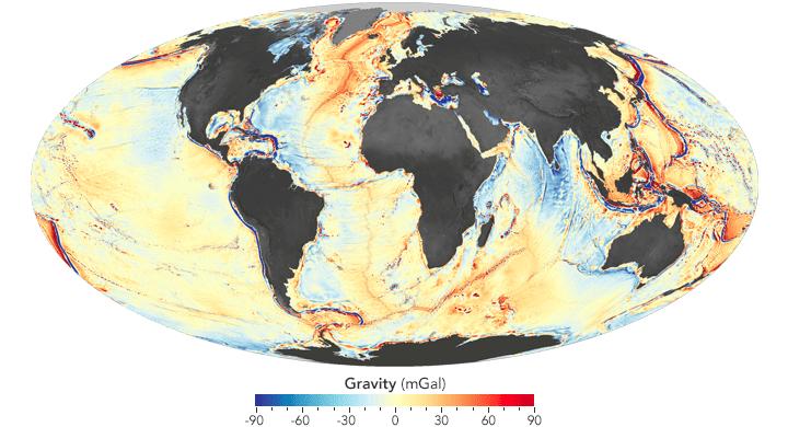 NASA Earth Observatory maps by Joshua Stevens, using data from Sandwell, D. et al. (2014).