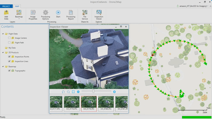 Free Trial Of DroneMap Turn Drone Imagery Into GIS Ready Data - Drone maps google