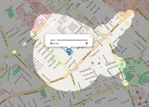 halifax-map-isochrone