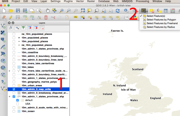 How to Convert a Selection into a New GIS Dataset Using QGIS ~ GIS