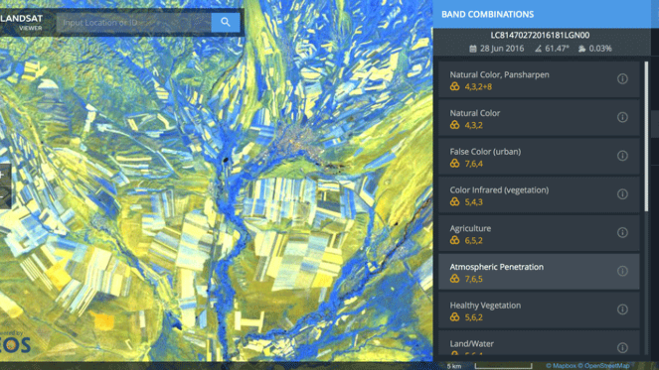 View Landsat 8 Imagery With This Free Tool ~ GIS Lounge