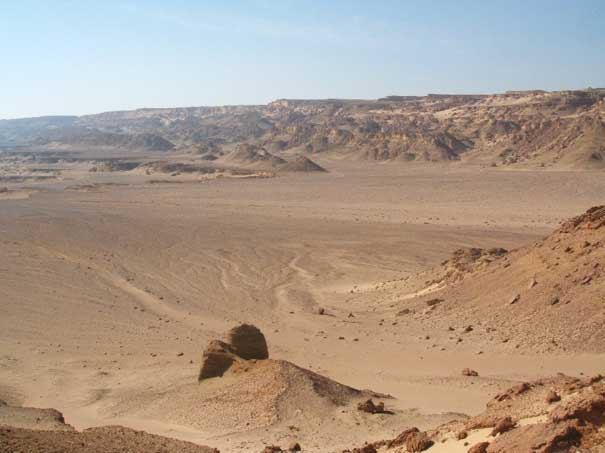 The Qattara Depression in Western Desert, Egypt. Image ©ACGeospatial