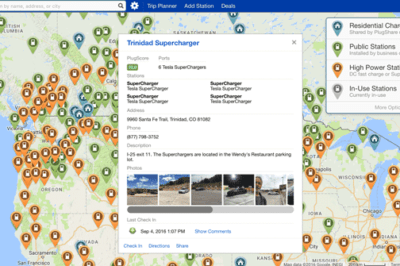 Plugshare is a crowdsourced app for finding charging stations for EV owners.