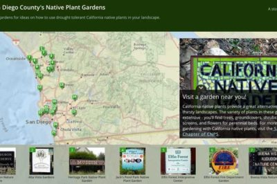 This ArcGIS-based story map highlights public gardens featuring native plants.