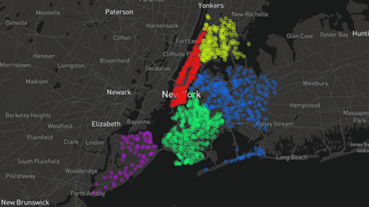How To Make a Map From Open Data Using a Spreadsheet ~ GIS Lounge