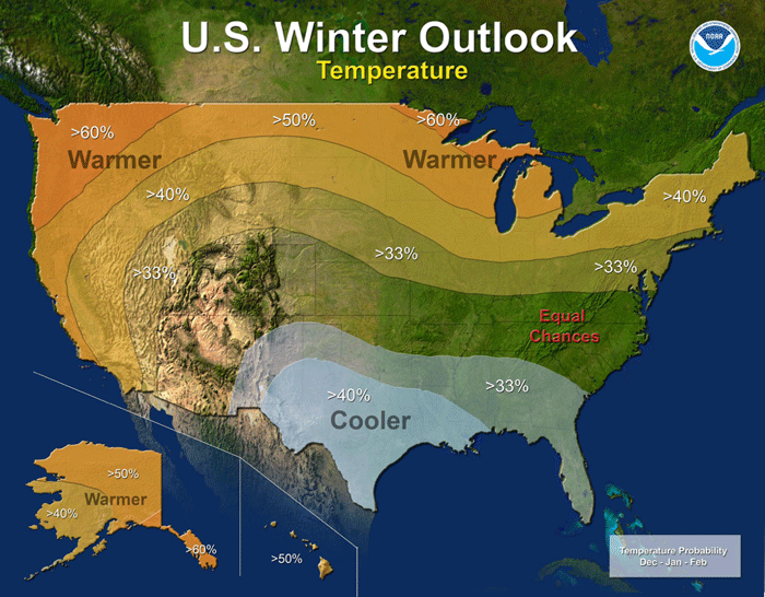 Winter 2015-2016 Temperature Outlook