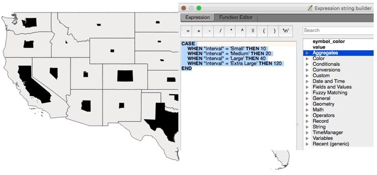 How to Create a Non-contiguous Cartogram Using QGIS ~ GIS Lounge