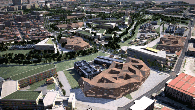 Image from Marseille Urban Planning Project, Esri CityEngine.