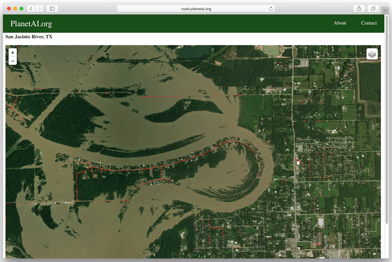 Detecting Flooded Roads From Satellite Imagery GIS Lounge - Flooded roads map