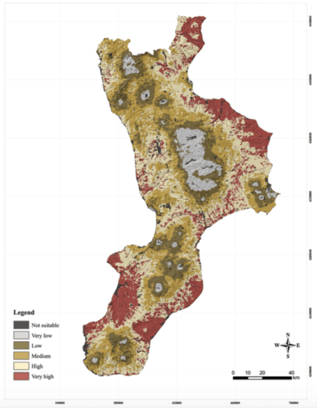 Mapping and Assessing Landscape Suitability for Bee Migration ~ GIS
