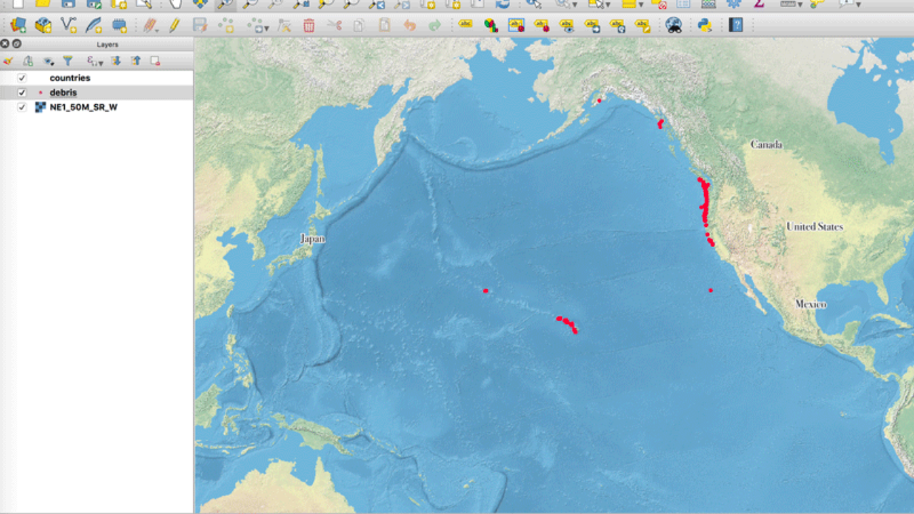 QGIS Tutorial: How to Change the Map Projection to be