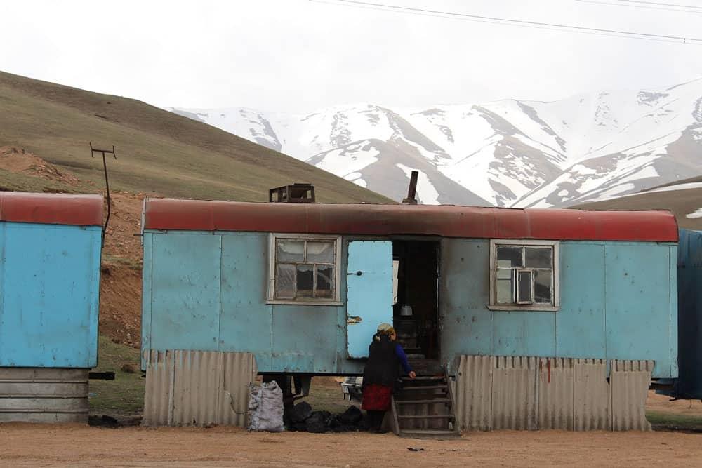Settlement at Kyzart Pass