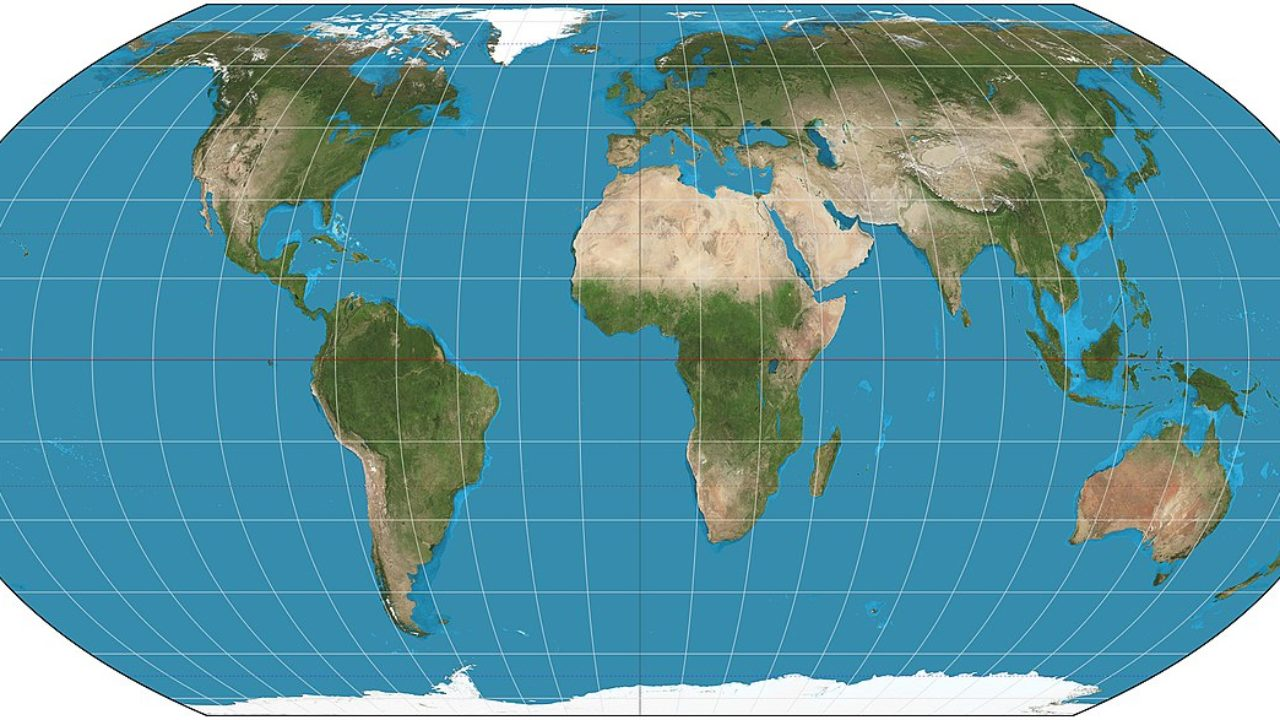 Basics of a Map ~ GIS Lounge