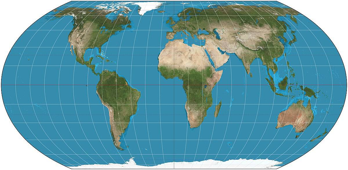 The Equal Earth Map Projection ~ GIS Lounge