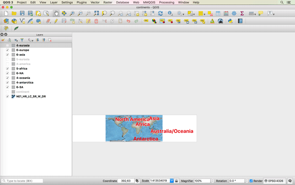 How to Get the Map View in QGIS to Resize Properly on a Mac ~ GIS Lounge