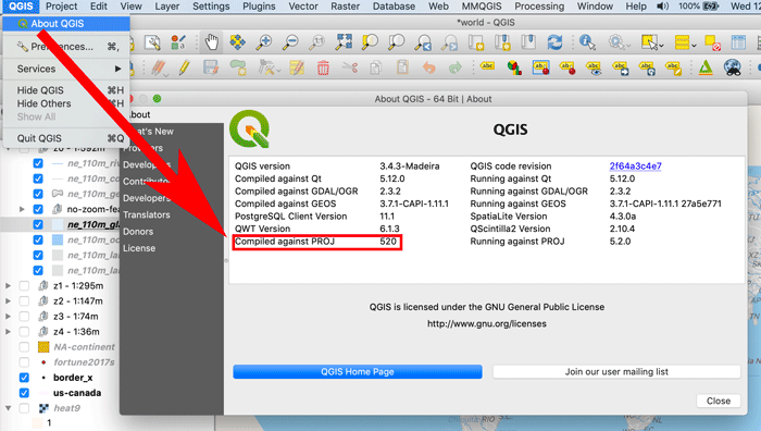 How To Use the Equal Earth Projection With QGIS on the Mac ~ GIS Lounge