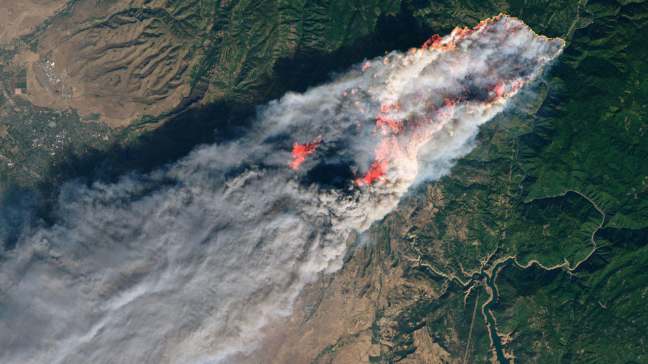 Real-time Fire Mapping and Satellite Data ~ GIS Lounge