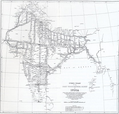 The Great Trigonometrical Survey India 1870 (Daniel Fernández Pascual Great Trigonometrical Survey of India 2012)