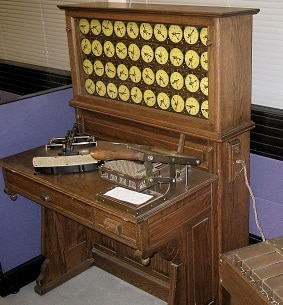 Hollerith's Tabulation Machine (Adam Schuster Proto IBM 2007)