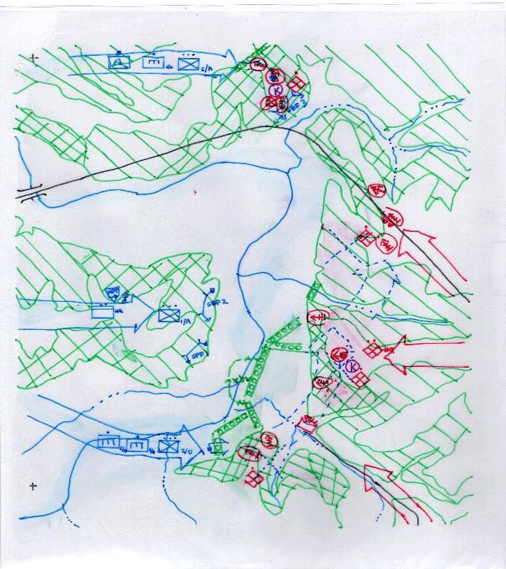 Hand-drawn overlays to be placed on a basemap.