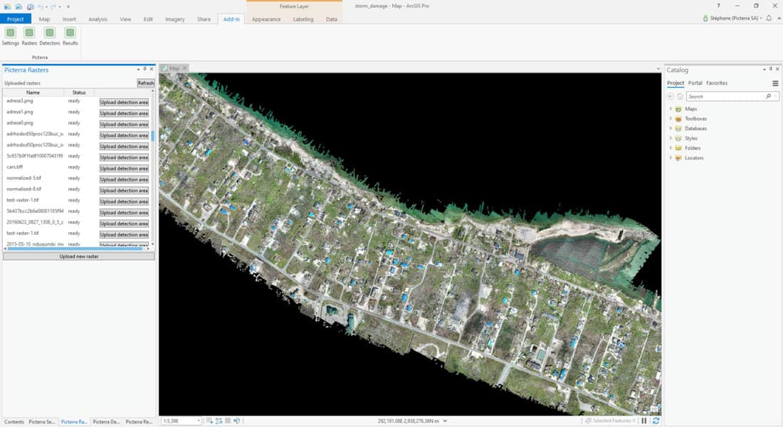 Machine Learning and Object Detection in Spatial Analysis, Cloud Pocket 365
