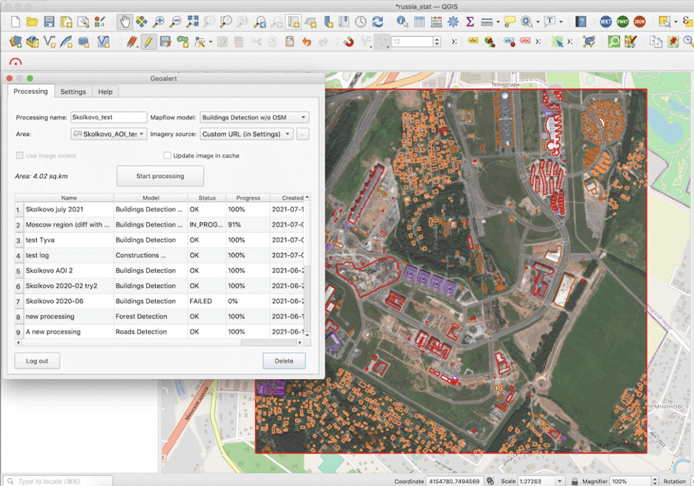 Run Ai Mapping In Qgis Over High Resolution Satellite Imagery Gis Lounge